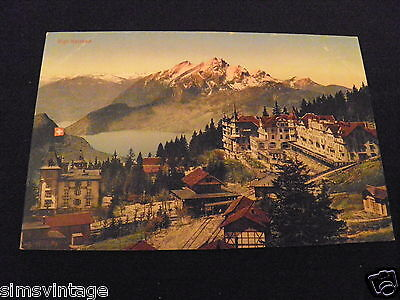 Europe Postcard Rigi Kaltbad Switzerland 000012