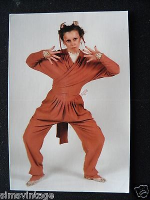 Unusual Weird D Postcard Julie Boswell Choreographer advertsing Ilkley  10