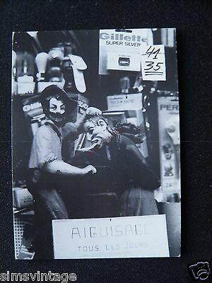 Unusual Weird D Postcard Brussells Bruxelles Market Puppets Tongue 14