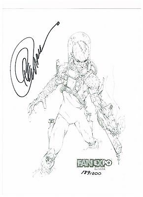 Signed Limited Greg Capullo Fine Art Print, Mr. Freeze, Hand signed, 189/200
