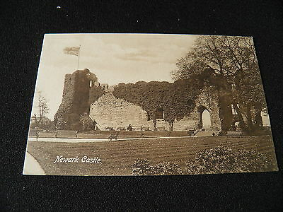 Nottinghamshire  Postcard Newark Castle