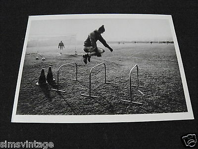 Unusual Weird B Postcard from the series Sparta 1984 football traing