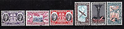 Lithuania Mi 385-90,used,full Set