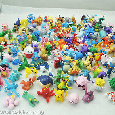 Wholesale Mixed Lots 12pcs Pokemon Mini Random Pearl Figures Kids Toy Lovelty tk