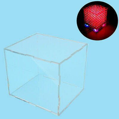 Cube Acrylic - note: only with the use our 3d8 mini cube,size is 12x12x h14 cm