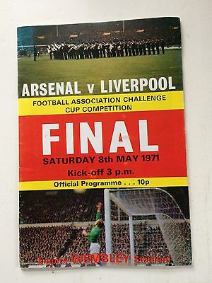 Arsenal v Liverpool 1970-71 (FA Cup Final) + match ticket
