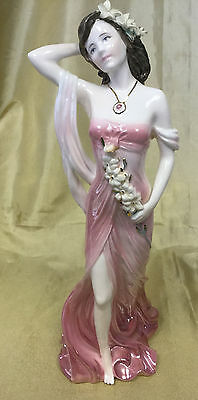 Coalport figurine 'Ruby' by Compton & Woodhouse fine bone china limited edition