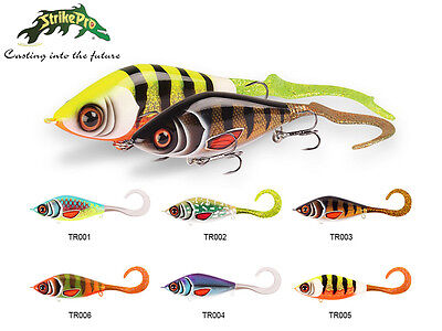 NEW 2017! Strike Pro Guppie Junior / 11cm / 65,5g / sinking lure / Köder