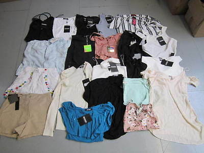 WHOLESALE JOBLOT Missguided Summer Clothes x 20 BNWT (ws3)