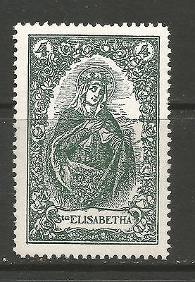 St Elizabetha of Hungary poster stamp/label (A)