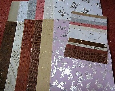A4 Pale and Pastel shades.Crafting Papers