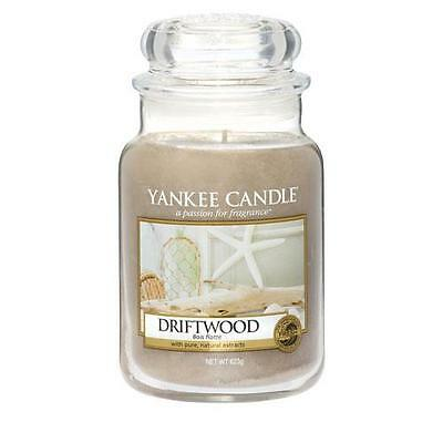 Yankee Candle Driftwood Large Jar Scented Candle