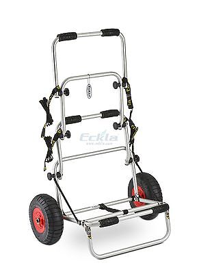 Eckla 'FOLDY' folding kayak cart stack truck trolley - multi-role
