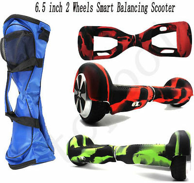 6.5'' 2 Wheels Smart Self Balancing Scooter Hover board Silicone Case Cover Bag