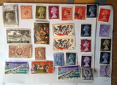 Stamps. GB. Various Dates and Topics #2. Used.