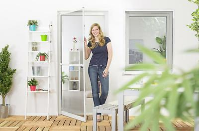 insect protection fly screen door aluminum frame professional QUALITY SLIM,100 x