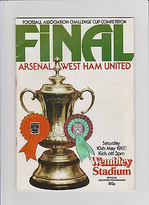 1980  Fa Cup Final Programme