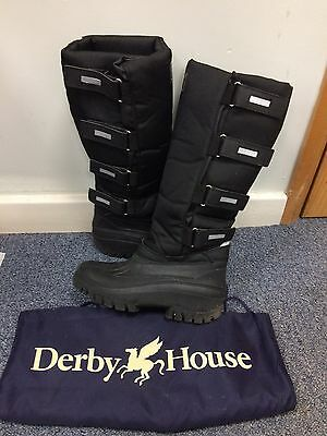 DERBY HOUSE Thermal Long Boots - size 6 (39)
