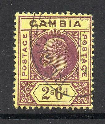 Gambia 2/6 Stamp c1902-05 Used