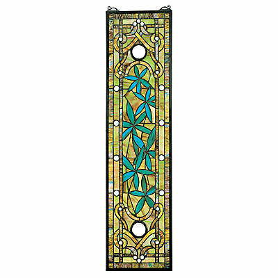 Design Toscano Asian Serenity Garden Stained Glass Window