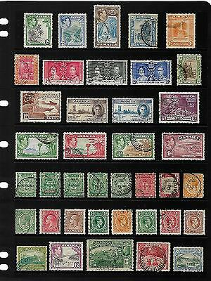 JAMAICA stamp selection.(ref.500)