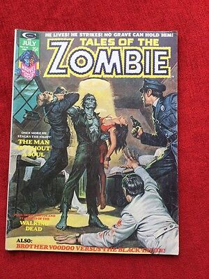 Tales Of The Zombie #  6 .Marvel Comics .1974.