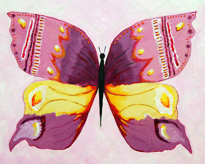 Cici Art Factory Admiral Butterfly Giclee Canvas Art