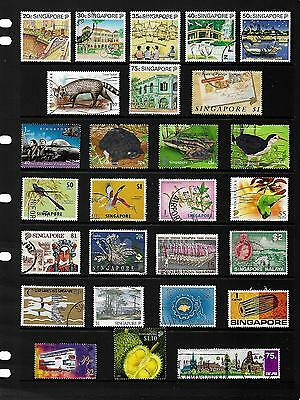 SINGAPORE  stamp selection.(ref.312)