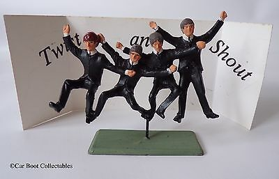 Little Lead Soldiers - The Beatles Twist & Shout Metal Figure Set - Memorabilia