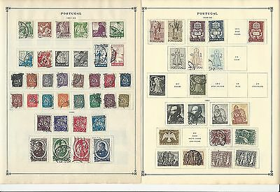 Portugal 1941-1963 Collection on Scott International Pages, 13 Pages