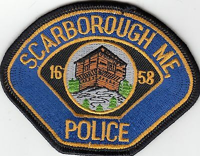 Scarborough Police Patch Maine Me