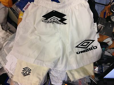 UMBRO SHORTS VINTAGE in white32 inch inch vintage brand new at £14