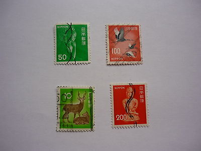 4 timbres Nippon