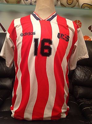 Adidas Soccer Jersey  Usa Number 16 World Cup Usa 1994 Size S