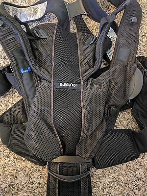 BabyBjorn Baby Carrier One Air - Black Mesh - Used Twice in Perfect Condition