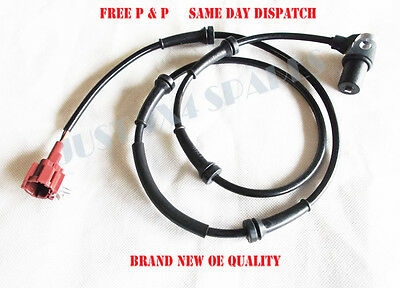 1 X Rear ABS Speed Anti Skid Sensor For Nissan Terrano || 2.7TD / 3.0TD (1993+)