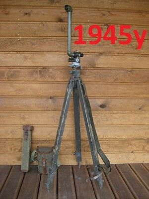 PAB  RUSSIAN MILITARY PERISCOPE RARE 1945 Year  OPTIC SIGHT CASE WITH TRIPOD