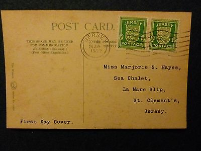 Jersey First Day Covers 1942-1943  Please See Photos