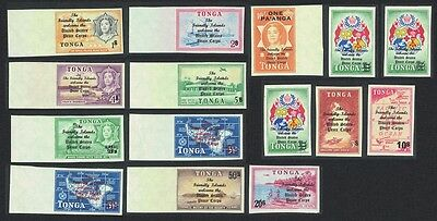 Tonga Arrival of US Peace Corps in Tonga 15v COMPLETE SG#216/27 SC#182-90etc
