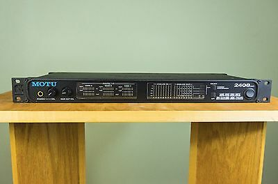 MOTU 2408 MK3 Recording Interface - Racked but never used.