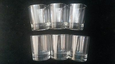 Set Of Six Glass Shot Glasses