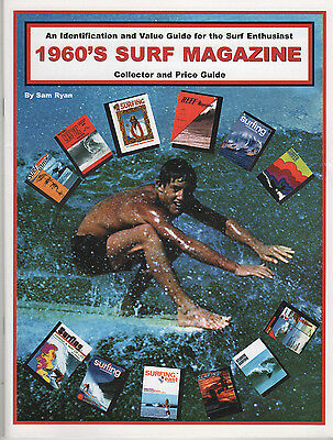 Original 1960s SURF MAGAZINE COLLECTOR PRICE GUIDE Sam Ryan ESSENTIAL Surfing