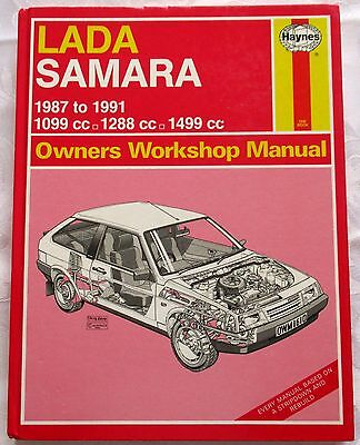 LADA SAMARA 87 to 91 -HAYNES OWNERS WORKSHOP MANUAL-SEE PICTURE FOR MODELS
