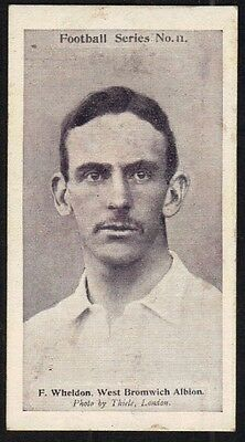 Wills Football Card 1902 - West Bromwich Albion - Wheldon.