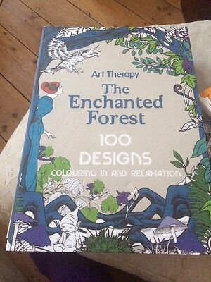 Art Therapy: Enchanted Forest by Jacqui Small LLP (Hardback, 2014)