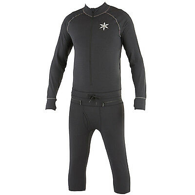 Airblaster Hoodless Ninja Suit (Black) Base Layer