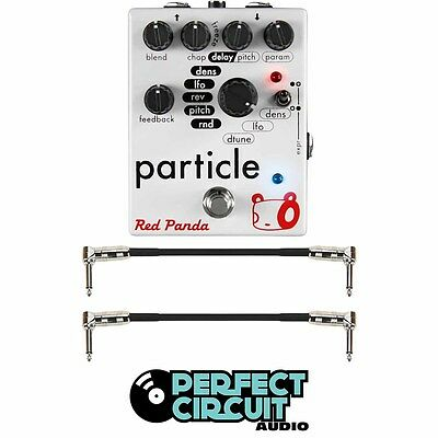Red Panda Particle Granular Delay w/ Cables EFFECTS - NEW - PERFECT CIRCUIT