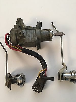 Ford Fiesta MK1 Ignition And Door Locks With Key