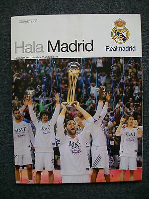 REVISTA MAGAZINE HALA MADRID REAL MADRID MAR-MAY 2014. Numero 50