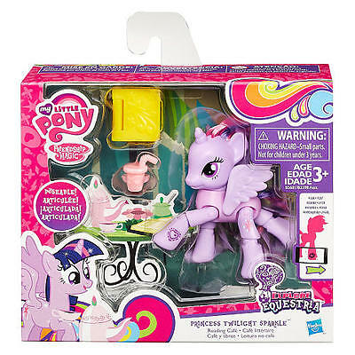 New MY LITTLE PONY FRIENDSHIP IS MAGIC PRINCESS TWILIGHT SPARKLE READING CAFE